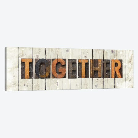 Together Canvas Print #FPP61} by Front Porch Pickins Canvas Artwork