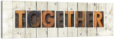 Together Canvas Art Print