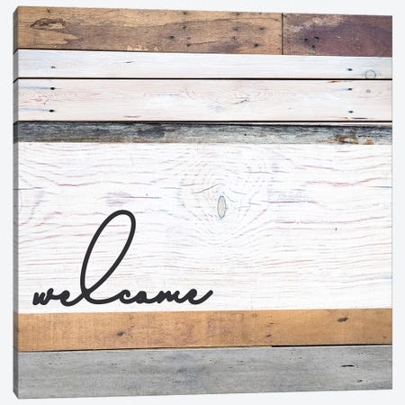 Welcome I Canvas Print #FPP70} by Front Porch Pickins Canvas Print