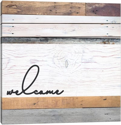 Welcome I Canvas Art Print