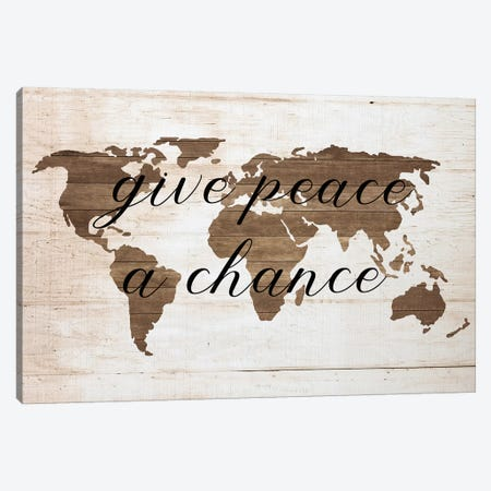 Peace Canvas Print #FPP75} by Front Porch Pickins Canvas Artwork