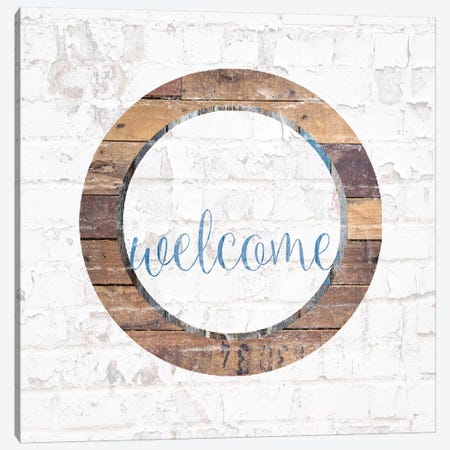 Welcome II Canvas Print #FPP76} by Front Porch Pickins Canvas Wall Art