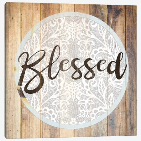 Bleesed I Canvas Print #FPP78} by Front Porch Pickins Art Print
