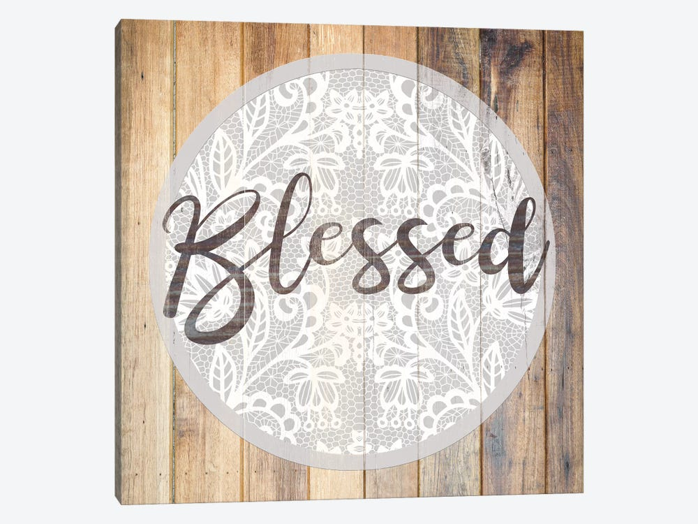 Blessed II by Front Porch Pickins 1-piece Canvas Print