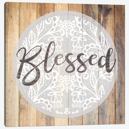 Blessed II Canvas Print #FPP79} by Front Porch Pickins Canvas Print