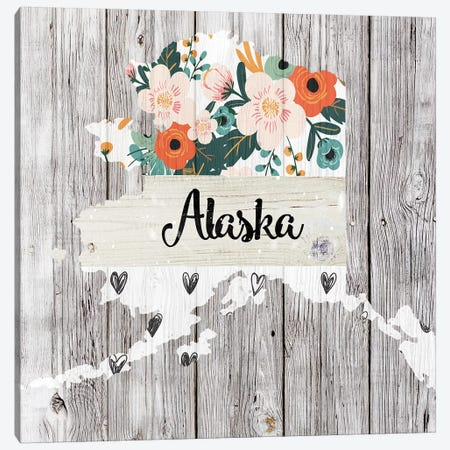 Alaska Canvas Print #FPP80} by Front Porch Pickins Canvas Artwork