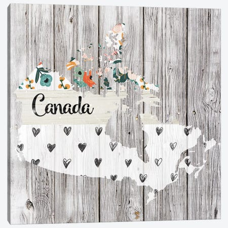 Canada Canvas Print #FPP84} by Front Porch Pickins Art Print