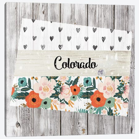 Colorado Canvas Print #FPP85} by Front Porch Pickins Canvas Print