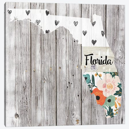Florida Canvas Print #FPP88} by Front Porch Pickins Canvas Art