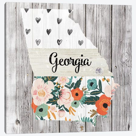 Georgia Canvas Print #FPP89} by Front Porch Pickins Canvas Wall Art
