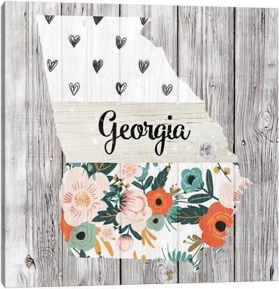 Georgia Canvas Art Print