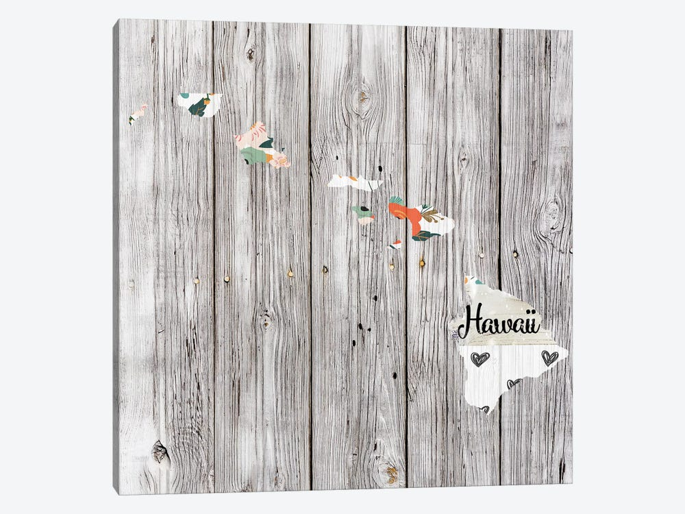 Hawaii by Front Porch Pickins 1-piece Canvas Wall Art