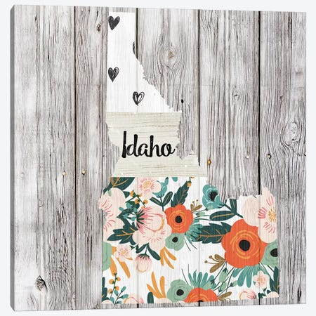 Idaho Canvas Print #FPP91} by Front Porch Pickins Art Print