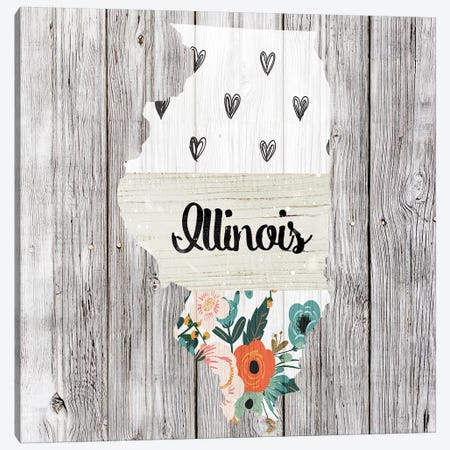 Illinois Canvas Print #FPP92} by Front Porch Pickins Canvas Art Print