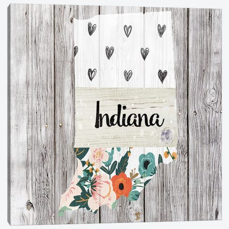 Indiana Canvas Print #FPP93} by Front Porch Pickins Canvas Print