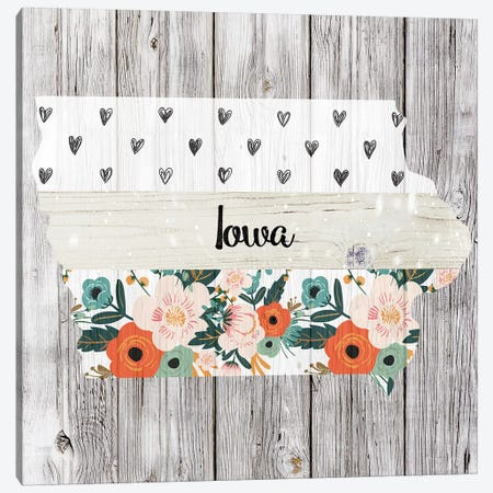 Iowa Canvas Print #FPP94} by Front Porch Pickins Canvas Art