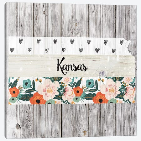 Kansas Canvas Print #FPP95} by Front Porch Pickins Canvas Wall Art