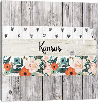 Kansas Canvas Art Print