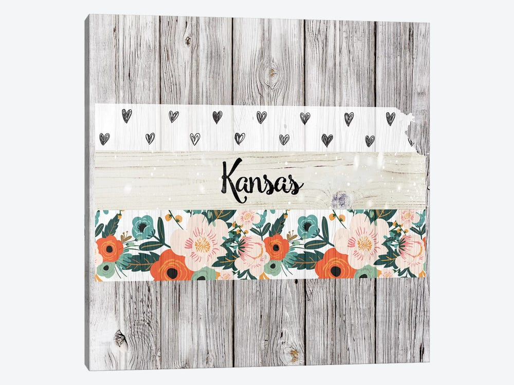 Kansas by Front Porch Pickins 1-piece Art Print