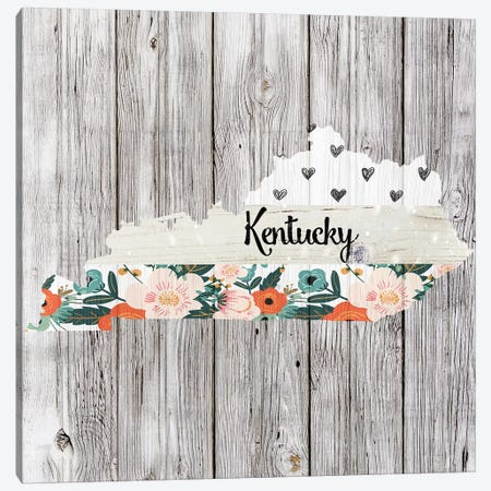 Kentucky Canvas Print #FPP96} by Front Porch Pickins Canvas Artwork