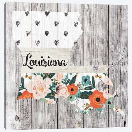 Louisiana Canvas Print #FPP97} by Front Porch Pickins Canvas Art