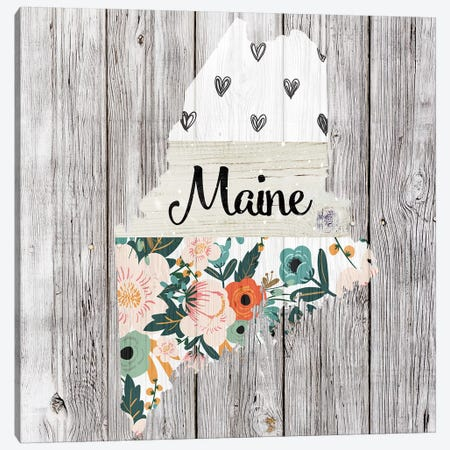 Maine Canvas Print #FPP98} by Front Porch Pickins Canvas Print