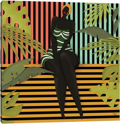 African Vibes Canvas Art Print
