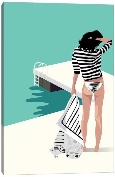 The Pier Canvas Art Print