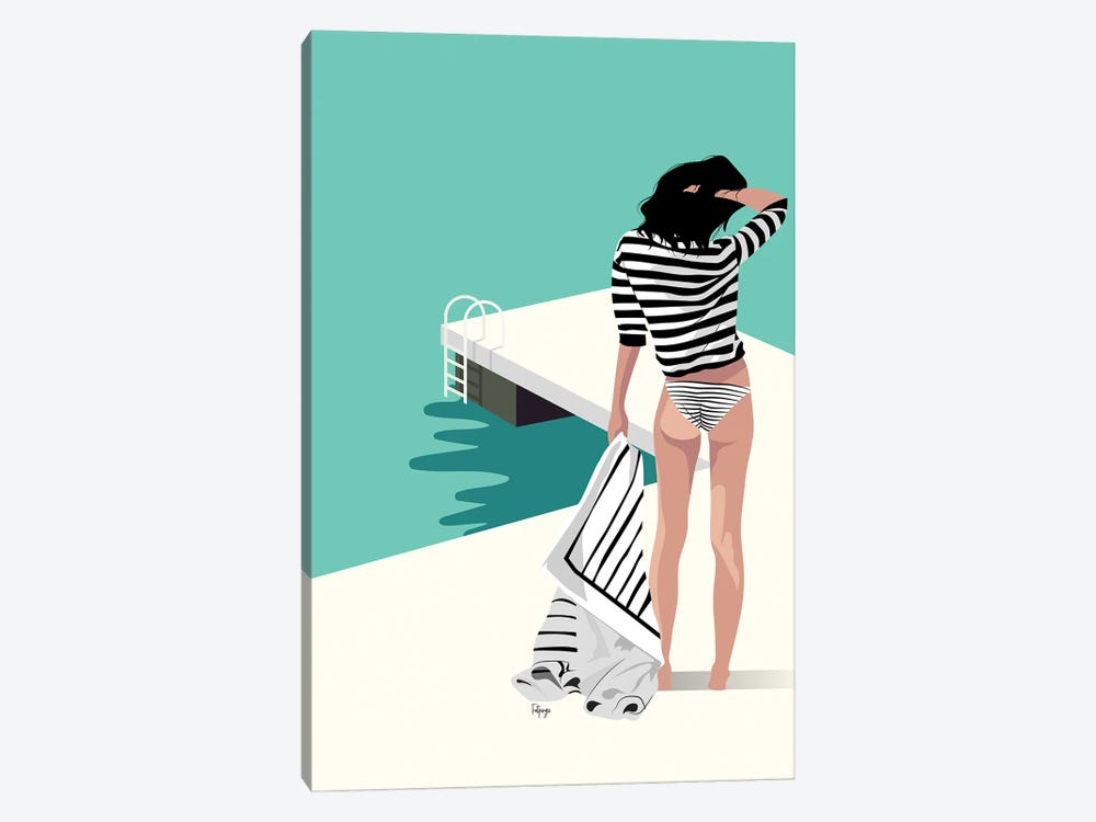 The Pier by Fatpings Studio 1-piece Art Print