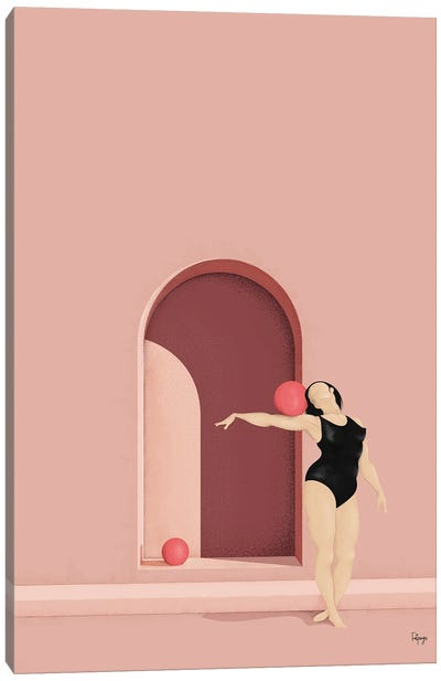 Balance Series - Blush Canvas Art Print