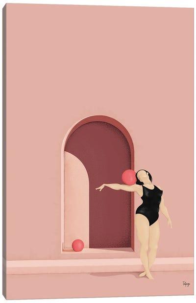 Balance Series - Blush Canvas Art Print