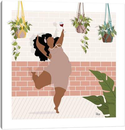 Wine & Dance Canvas Art Print