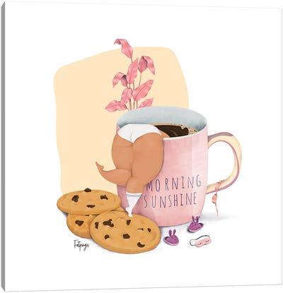 Morning Sunshine Canvas Art Print