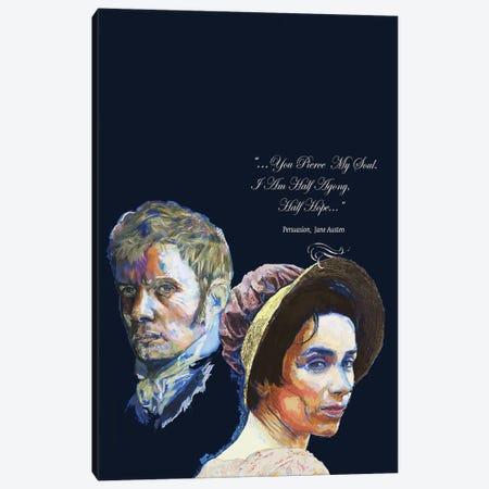 Jane Austen - Love Quote - Persuasion Canvas Print #FPT102} by Fanitsa Petrou Canvas Art Print