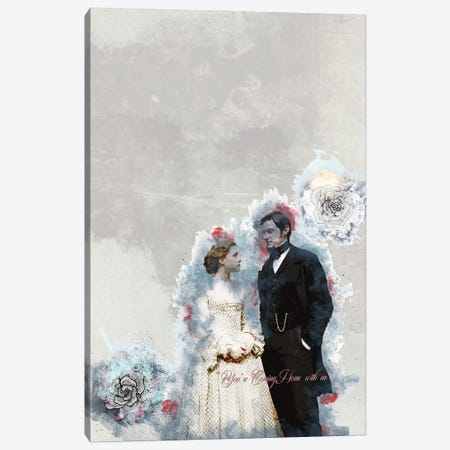 North And South Quote Canvas Print #FPT105} by Fanitsa Petrou Canvas Artwork