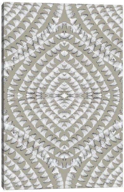 Abstract - Geometrical - Beige Canvas Art Print