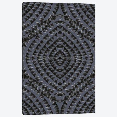 Abstract - Geometrical - Dark Grey Canvas Print #FPT116} by Fanitsa Petrou Canvas Art Print
