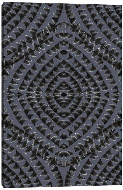 Abstract - Geometrical - Dark Grey Canvas Art Print