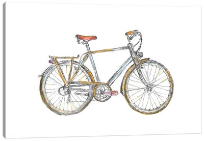 Bicycle Canvas Art Print