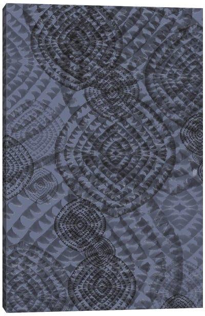 Abstract Minimal Grey Canvas Art Print