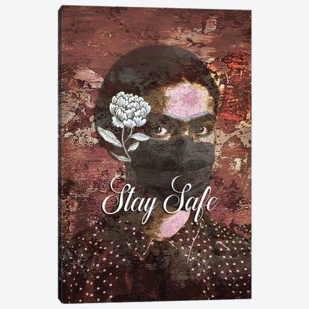 Stay Safe Canvas Print #FPT165} by Fanitsa Petrou Canvas Artwork