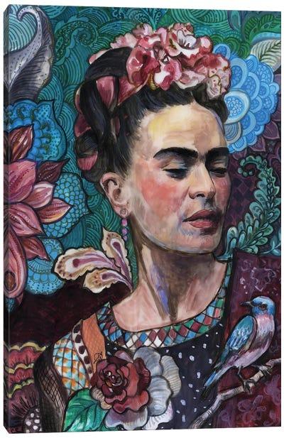 Frida - Birds And Flowers Canvas Art Print
