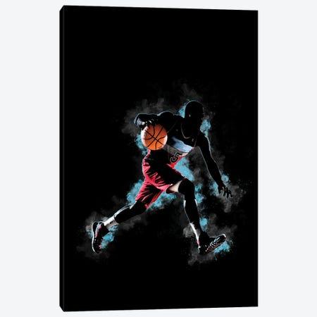 Basketball Canvas Print #FPT202} by Fanitsa Petrou Canvas Wall Art