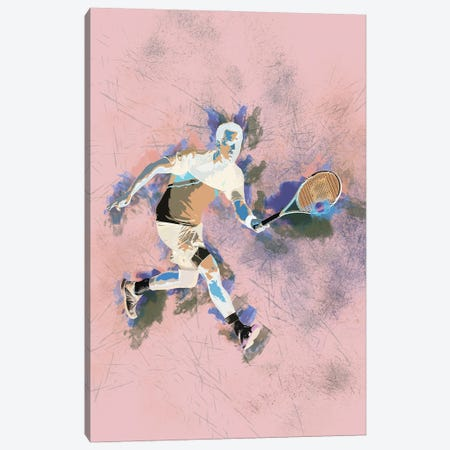 Tennis Canvas Print #FPT209} by Fanitsa Petrou Canvas Art