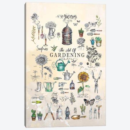 The Art Of Gardening Canvas Print #FPT235} by Fanitsa Petrou Canvas Art