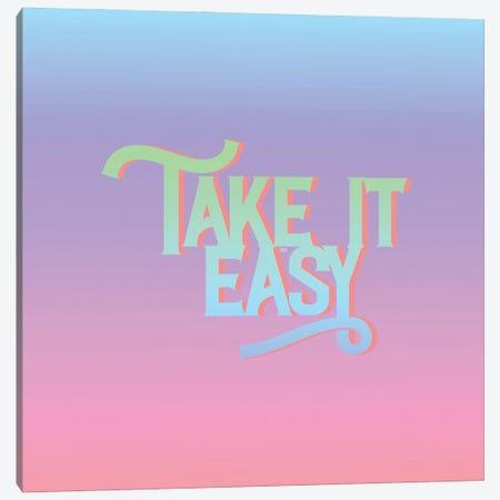 Take It Easy Canvas Print #FPT259} by Fanitsa Petrou Canvas Art Print