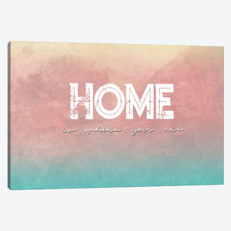 Home Is Where You Are Canvas Print #FPT262} by Fanitsa Petrou Canvas Wall Art