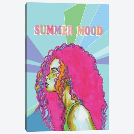 Summer Mood - Pink Canvas Print #FPT278} by Fanitsa Petrou Canvas Print