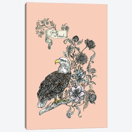 Spirit Animal Eagle Canvas Print #FPT309} by Fanitsa Petrou Art Print
