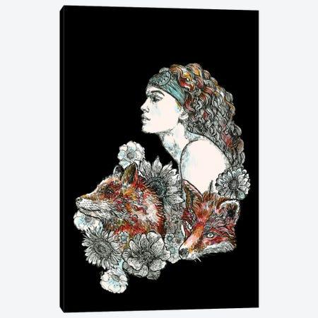 She Wolf Canvas Print #FPT311} by Fanitsa Petrou Canvas Art